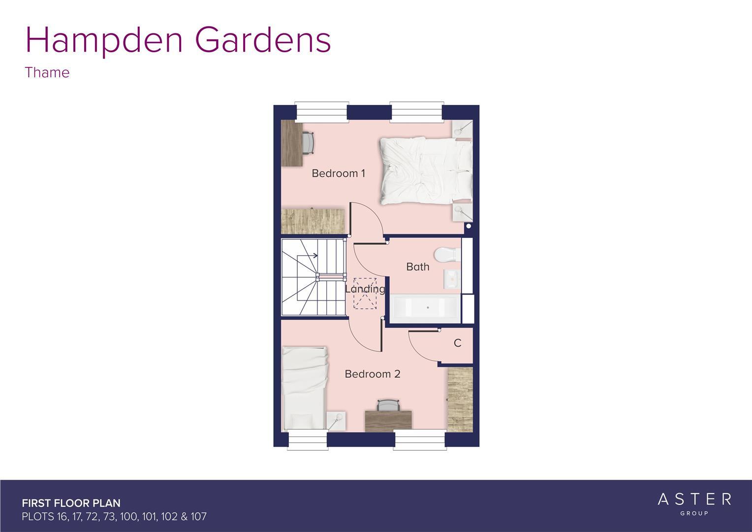 Hampden Gardens, Thame_16-17-72-100-101-102-107_FF